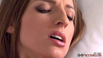 Morgan Moon Sexy brunette climaxing hard
