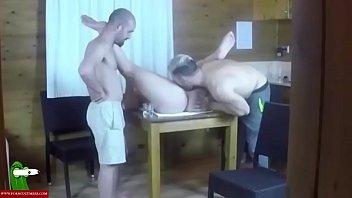 Jesus teaches Eric how to eat Pamela's cunt. SAN034