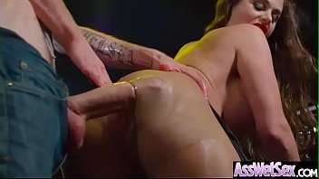 Hard Deep Anal Sex With Big Oiled Ass Girl (Cathy Heaven) clip-12