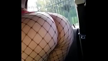 Big ass Turkish girl gets her ass slapped