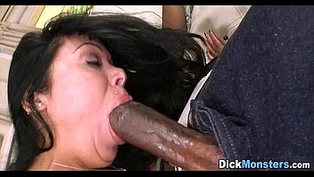 Trying out a big black dick 14