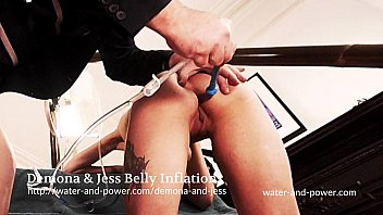 Demona and Jess Belly Inflation Enemas thumbnail
