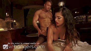 VR BANGERS Latina whore becomes a professional bartender
