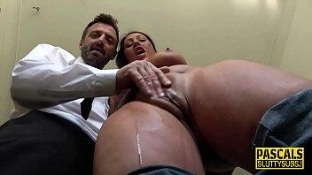 Fetish slut dominated and fingered