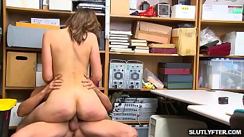 Bella Rolland pumping that wet twat fast on top of the LP Officer!