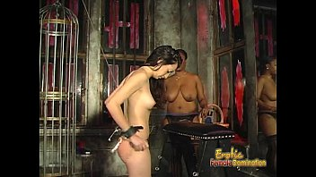 Female spanked powered by vbulletin - Voluptuous black chick loves spanking her white brunette girlfriend hard