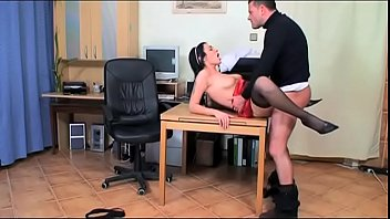 Gullible doctor porn - Bad doctor bangs his secretary in the medical office