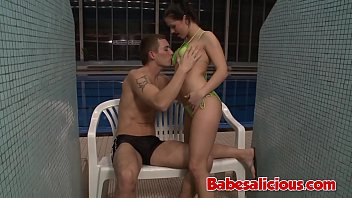 Babesalicious - Small Tits Brunette Babe Rough Fuck