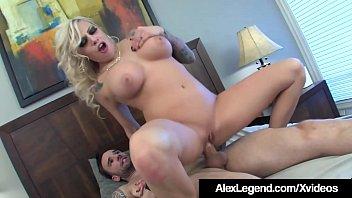 Fat Cock Frenchman Alex Legend Bones Beautiful Vyxen Steele!