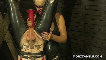 Prepare for domination bring it on Kinky norwegian monicamilf is pegging the dirty clown upside down