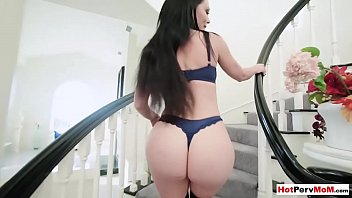 Busty cock addict mommy waiting for me in sexy lingerie