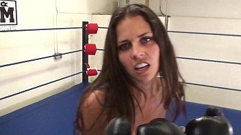Sarka boxing femdom - Cali-logan-topless-pov