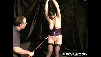Cattle prod electro torment of mature bdsm sub China