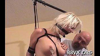 Hot-tempered bimbo who likes to show her body