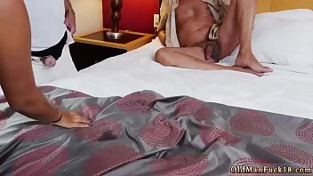 Old man massage and mom with pierced nipple Staycation with a Latin