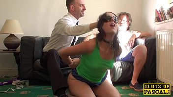 British amateur bdsm Spanked uk sub fed a mouthful of doms cum