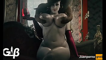 Massaging Alcina Dimitrescu's Big Tits [generalbutch]