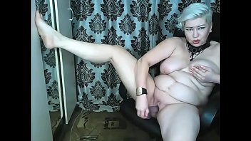 Hot dildo-show by Russian mature whore AimeeParadise....