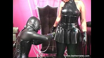 Latex rubber body - Latex fetish black woman