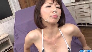 Mamma loves cum - Izumi manaka needy mommy loves cum on face