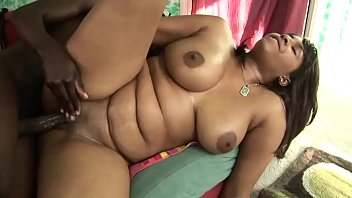 XXBLACKS.COM Gorgeous Oiled Babe Sucks On Partners Cock Before Riding It