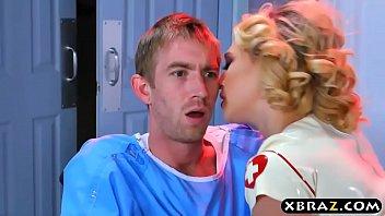 Latex nurse sex - Nurse kagney linn karter cures patient with anal sex