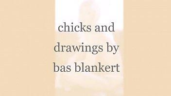 Рисованные голые тёлки девушки