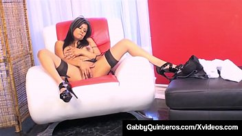 Dirty Mexican Milf Gabby Quinteros Fucks A Hard Cock!
