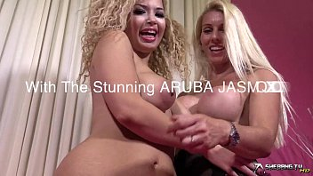 Two hot girls in erotic lesbian action