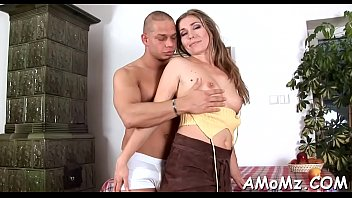 Hot mature moms - Bitchy mama rides like a pro