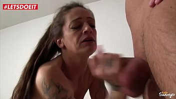 LETSDOEIT - Slutty German Wife Rides Her Lovers Cock