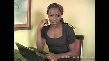 Ebony Seductress teaches you how to jerk off - DamnCam.net tumblr xxx video