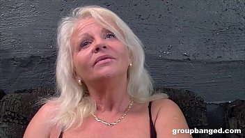 Granny gangbang tubes - German granny gangbanged by a bunch of young guys