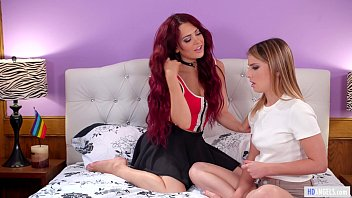 GIRLSWAY - Neighbor welcomes the new girl! - Kristen Scott and Sabina Rouge