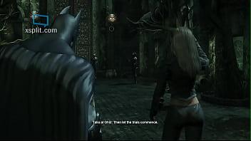 Arkham City: Talia Al Ghul Sexy Walk