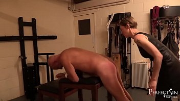 Ass spanking discipline Femdom by mistress silver - less words more slaps