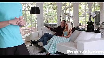 Hot Blonde Milf Stretched Out & Fucked   FamSuck.com