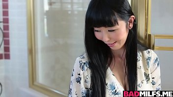 Hot Asian MILF Marica 3some with a hot stud