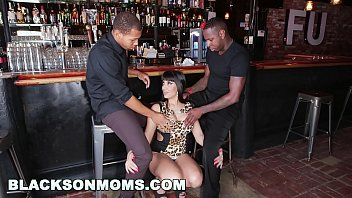 BLACKSONMOMS - Tag Teaming A Hot MILF Bartender (xa15201) Preview