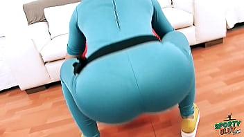 Huge Ass Latina Exposing Cameltoe in Tight Spanex Bodysuit thumbnail
