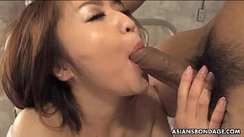 Runa Kanzaki likes to get throatfucked and hammered from behind