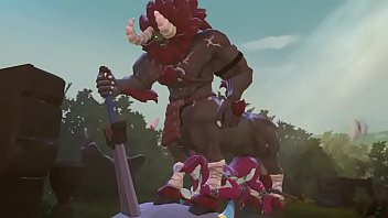Sidon the zora prince get fuck by a lynel