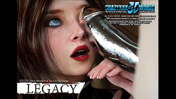 Nude xxx comix 3d comic: legacy. episode 27. when the laughter stops...