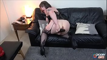 This sexy slut shemale is amazing