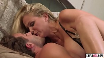 Experienced mom Julia Ann knows well what younger boys need - A Little Help From My Friends Scene 2