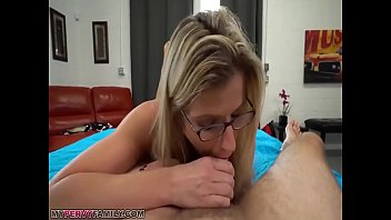 Slutty Mom Cory Chase Gives Step Son A Helping Hand Pussy