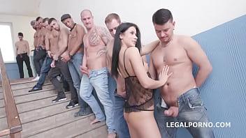 Nicole Black - 10on1 DAP Gangbang and Balls Deep Anal