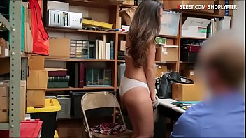 Teen shoplifter Shane Blair sucks off and gets pounded