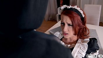 Red hair bears porn Redhead maid isabella lui catches thief in the act before anal fuck