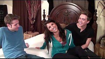Casting Danielle Aka Evi Fox Desperate Amateurs Threesome Spitroast